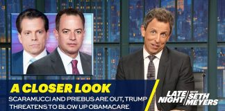 Scaramucci and Priebus Are Out, Trump Threatens to Blow Up Obamacare: A Closer Look