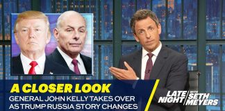 General John Kelly Takes Over as Trump Russia Story Changes: A Closer Look