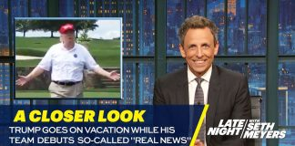 "Trump Goes on Vacation While His Team Debuts So-Called ""Real News"": A Closer Look"