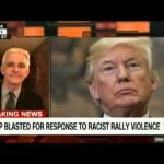 TRUMP BLASHTED FOR RESPONSE TO RACIST RALLY VIOLENCE