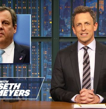 Trump's Community Service, Chris Christie's Last Day in Office - Monologue