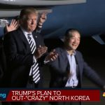 Trump's plan to out-'crazy' North Korea
