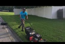 Man aims to mow lawns in all 50 states for veterans, elderly