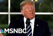 Donald Trump And Chief Justice Go Head-To-Head Over Judicial Independence | The 11th Hour | MSNBC