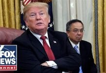 Trump makes remarks amid talks with Chinese official