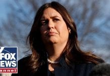 Sarah Sanders mocked for saying God wanted Trump as president