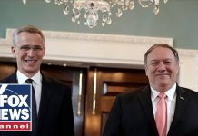 Pompeo, Stoltenberg deliver remarks at NATO Foreign Ministers meeting