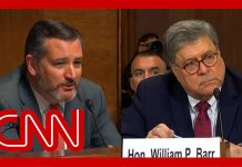 Ted Cruz calls Democrats' attack against Barr weak