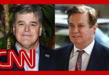 Manafort texts to Hannity: Would never give up Trump or Kushner