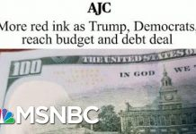 Joe: President Donald Trump Lying To Americans About Paying Down Debt | Morning Joe | MSNBC