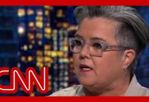 Rosie O'Donnell: Joe Biden should sit out 2020 election