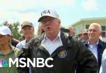 On Dorian, Trump Goes From Criticizing Puerto Rico To Concerned About Florida | Hardball | MSNBC