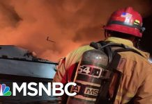 Coast Guard Rescuing Dozens In Potential 'Major Incident' On Boat Near Santa Cruz Island | MSNBC